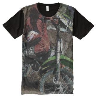 Motocross Dirt-Racing Fine Art Shirts All-Over Print T-shirt