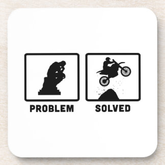 Motocross Drink Coaster