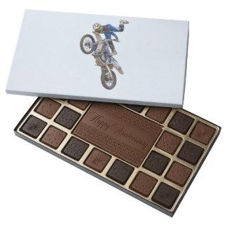 Motocross Extreme Tricks 45 Piece Box Of Chocolates