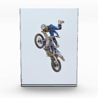 Motocross Extreme Tricks Acrylic Award