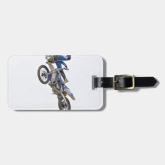 Motocross Extreme Tricks Bag Tag