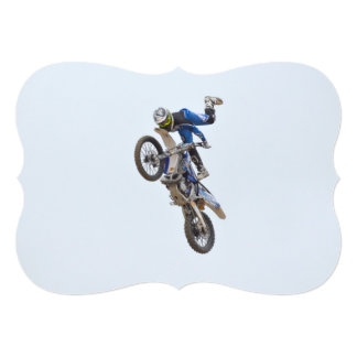 Motocross Extreme Tricks Card