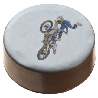 Motocross Extreme Tricks Chocolate Covered Oreo