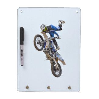 Motocross Extreme Tricks Dry Erase Board