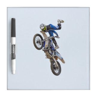 Motocross Extreme Tricks Dry-Erase Board