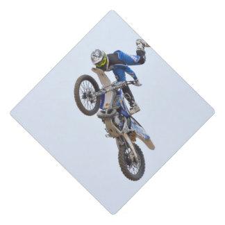 Motocross Extreme Tricks Graduation Cap Topper