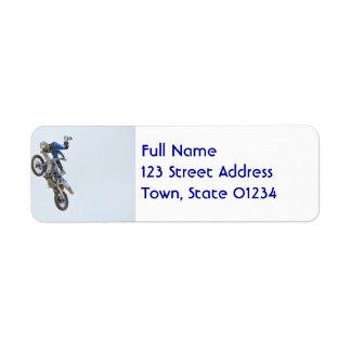 Motocross Extreme Tricks Label