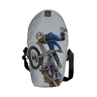 Motocross Extreme Tricks Messenger Bag