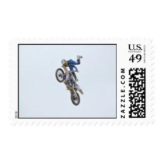 Motocross Extreme Tricks Postage
