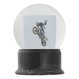Motocross Extreme Tricks Snow Globe