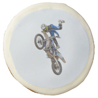 Motocross Extreme Tricks Sugar Cookie