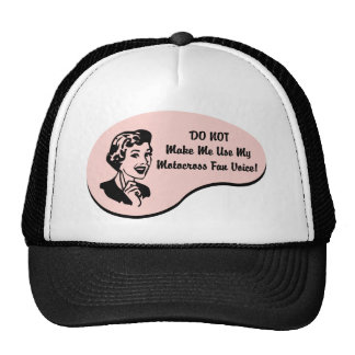 Motocross Fan Voice Trucker Hat