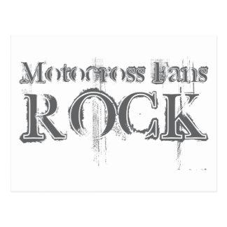 Motocross Fans Rock Post Cards