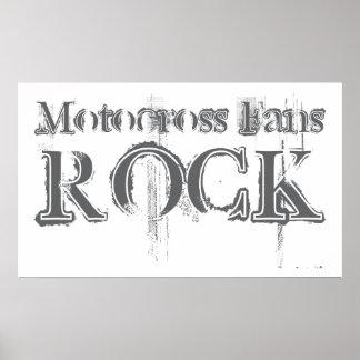 Motocross Fans Rock Posters