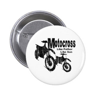 Motocross Father/Son Buttons