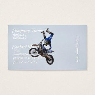 Motocross Flying High Business Card