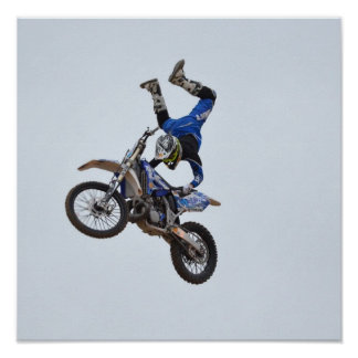 Motocross Flying High Posters