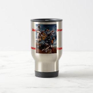 Motocross for dads travel mug