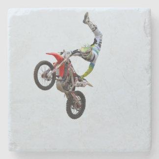 Motocross Freestyle Stone Beverage Coaster