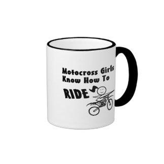 Motocross Girls Mugs