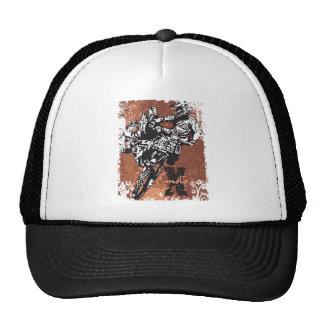 Motocross Grunge Hats