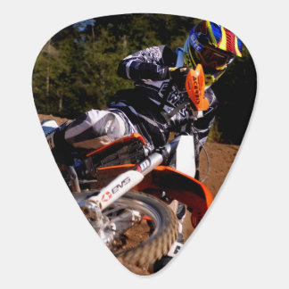 Motocross Guitar Pick