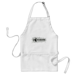 Motocross is a Way of Life Adult Apron