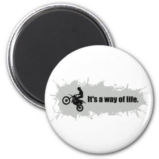 Motocross is a Way of Life Magnet