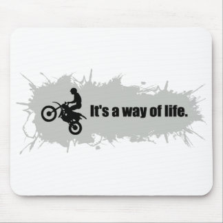 Motocross is a Way of Life Mouse Pad
