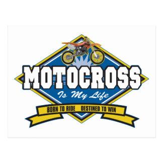 Motocross is My Life Postcard