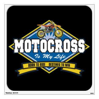 Motocross is My Life Room Graphics