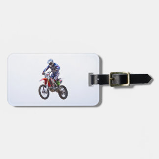 Motocross Jump Tags For Luggage