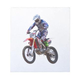 Motocross Jump Notepad
