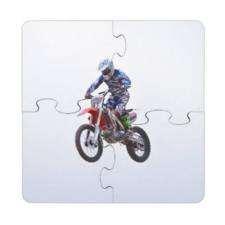 Motocross Jump Puzzle Coaster