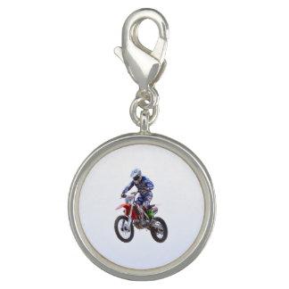 Motocross Jump Photo Charms