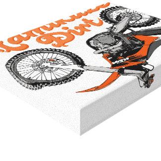 Motocross Kamikaze Canvas Print