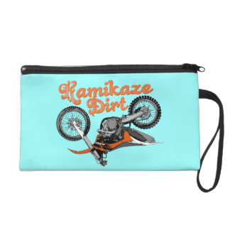 Motocross Kamikaze Wristlet Purse