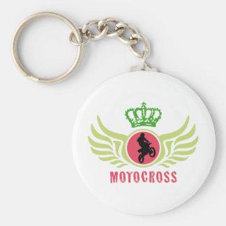 motocross keychain