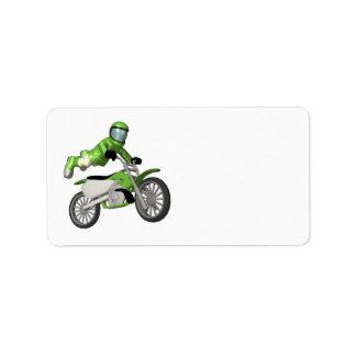 Motocross Label