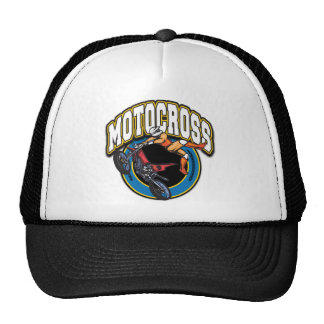Motocross Logo Trucker Hat