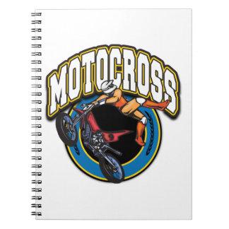 Motocross Logo Journals