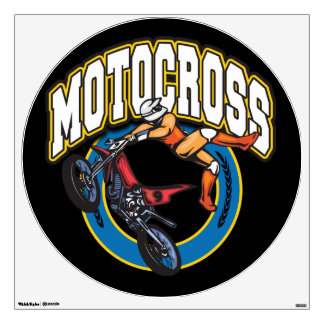 Motocross Logo Wall Skin