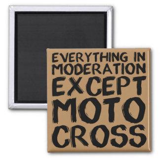 Motocross Moderation Funny Dirt Bike Fridge Magnet