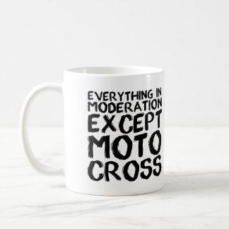 Motocross Moderation Funny Dirt Bike Mug Sayings