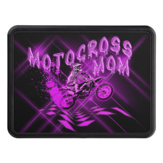 Motocross Mom Trailer Hitch Cover