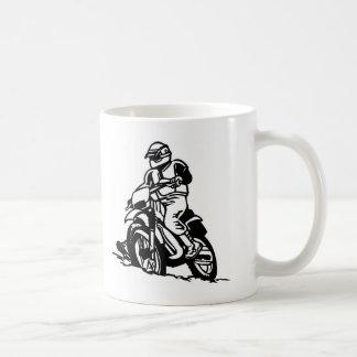Motocross Motorcycle Classic White Coffee Mug