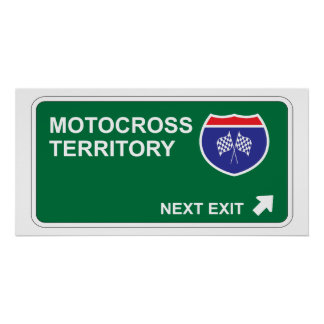 Motocross Next Exit Poster