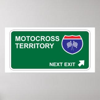 Motocross Next Exit Poster