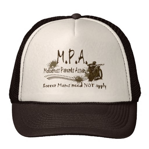 Motocross Parents Association Trucker Hat