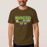 Motocross Pit Crew Dad Shirt